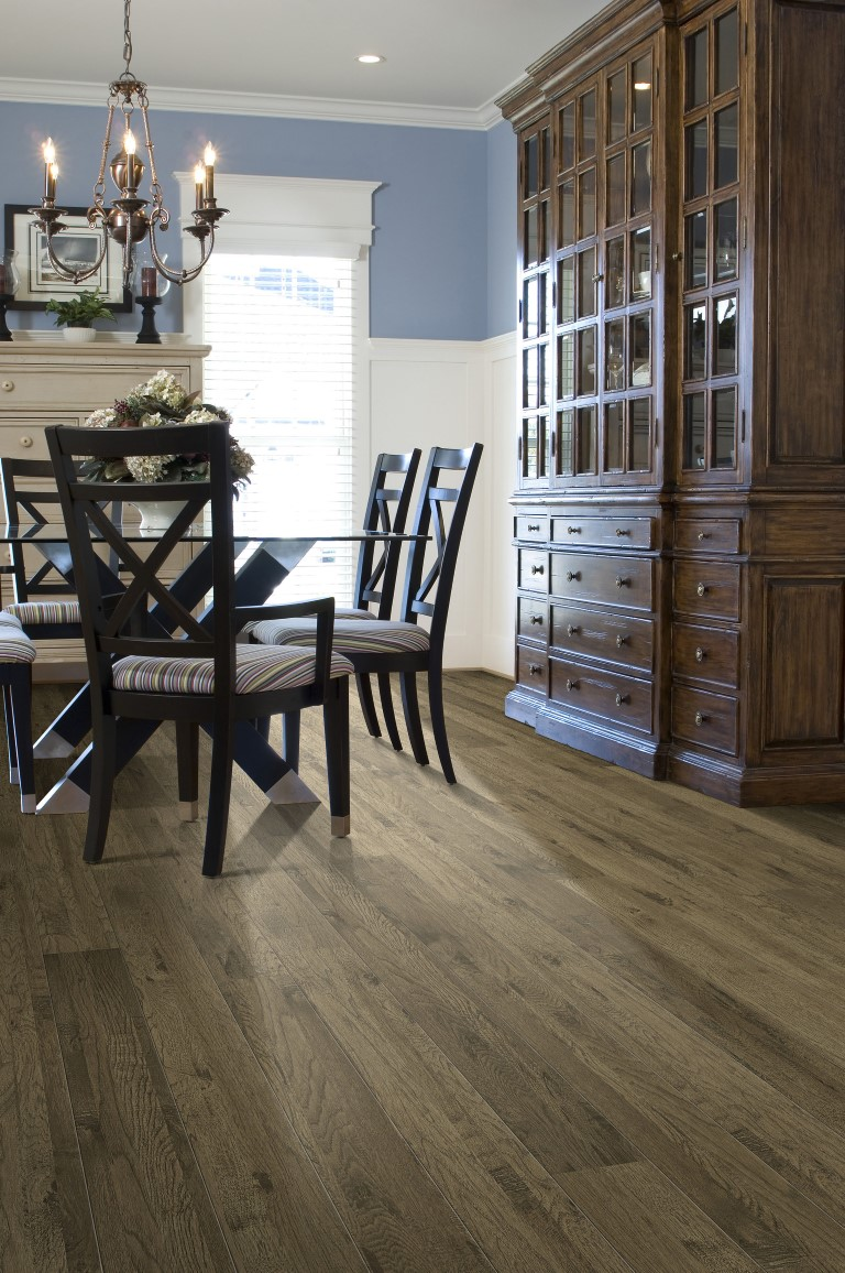 Alamo Hickory dining room flooring