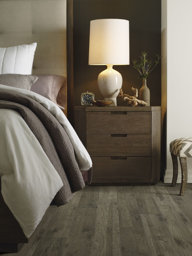 Barrington Hickory flooring in bedroom